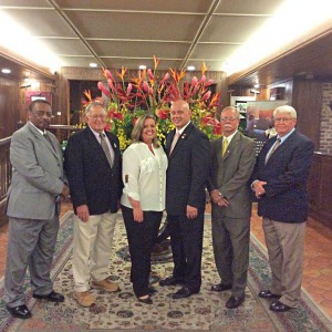 Chatom Town Council Pictured above from left to right: Cleophus Stephens, Ted Hazen, Tina Jones, MAYOR Harold Crouch, Carl Craig, and Wayne Blackwell